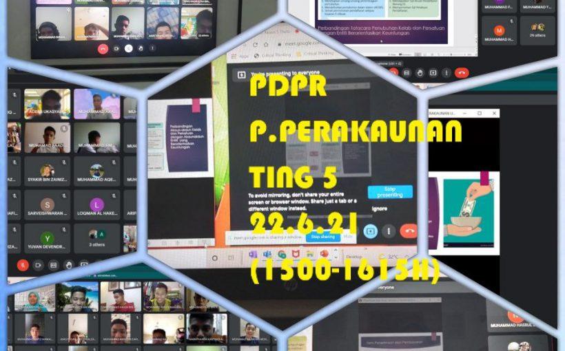PDPR TINGKATAN 5